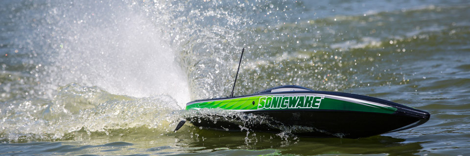Proboat Sonicwake 36 Deep-V Self-Righting Brushless Boat RTR 2