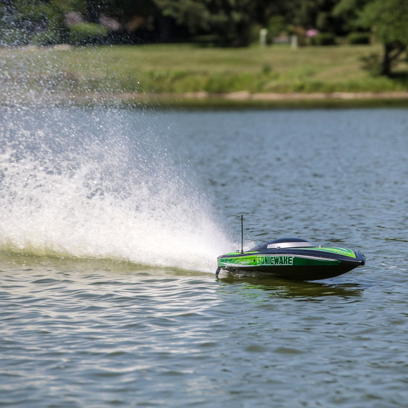 Proboat Sonicwake 36 Deep-V Self-Righting Brushless Boat RTR 6