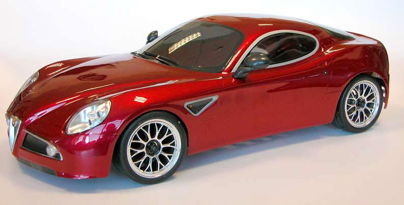 Alfa Romeo - 8C - Competizione - Queens Of The Road