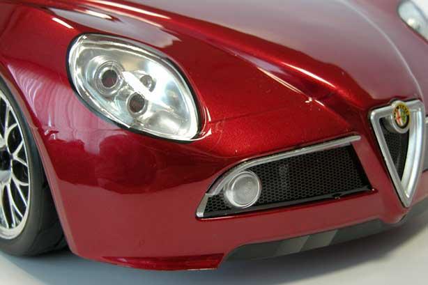 Alfa Romeo - 8C - Competizione - fari