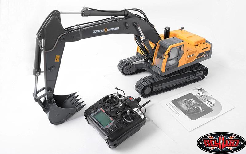 rc4wd earth digger 360l escavatore radiocomandato 1