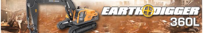 rc4wd earth digger 360l escavatore radiocomandato 2