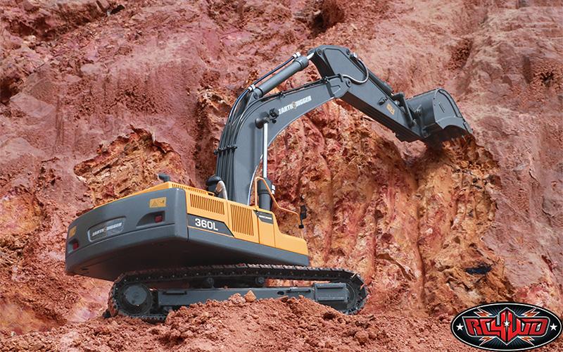 rc4wd earth digger 360l escavatore radiocomandato 10