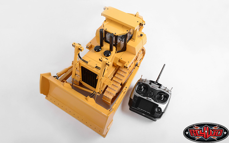 Rc4wd 1 14 Full Metal Scale Dxr2 Hydraulic Earth Dozer