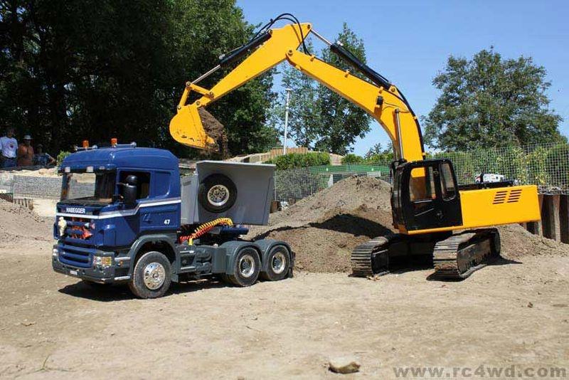 Rc4wd Escavatore Idraulico 4200XL 1/12 rtr 9