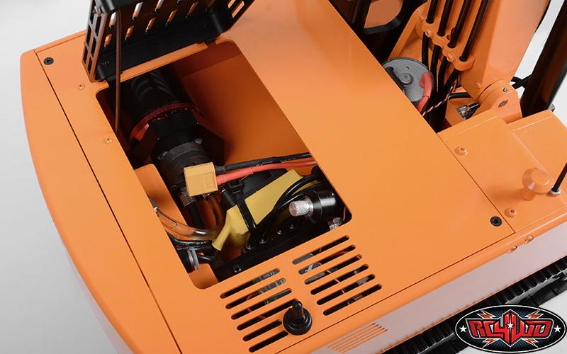 Rc4wd Escavatore Idraulico 4200XL 1/12 rtr 6