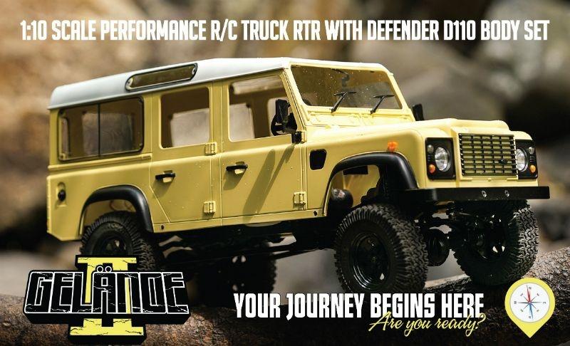 Rc4wd Gelande 2 Land Rover Defender D110 LWB 1