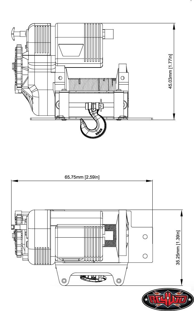 RC4WD 1/10 Warn 8274 Winch 10