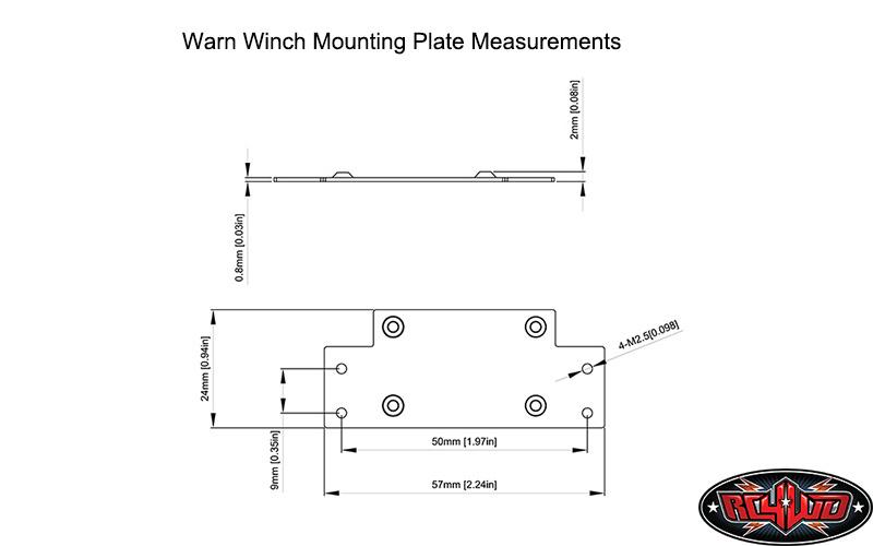 RC4WD 1/10 Warn 8274 Winch 13