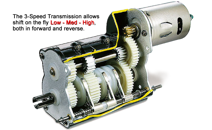 Tamiya 3 speed transmission