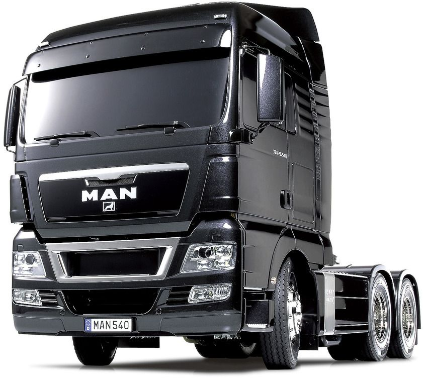 MAN TGX 4×2 XLX Body Verniciato Red
