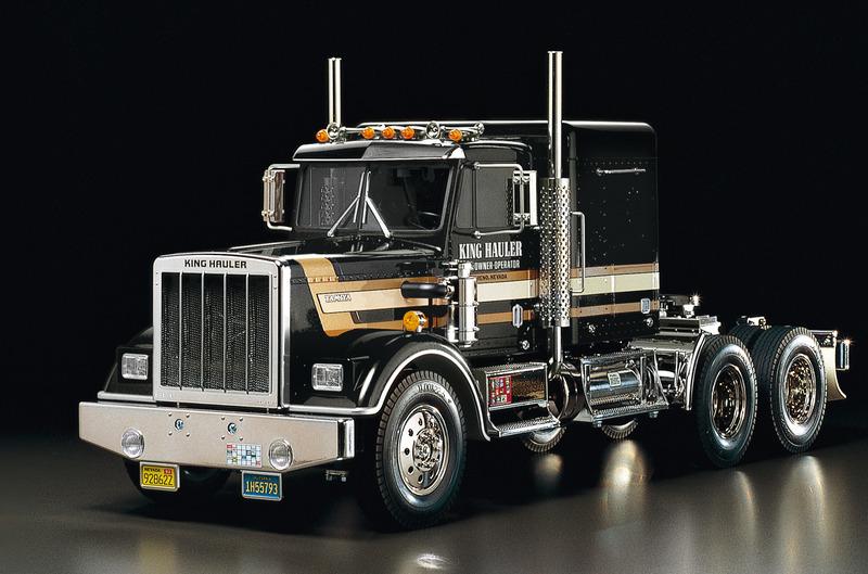 Tamiya King Hauler Black Edition Truck -kit