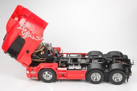 Tamiya Scania R620 Highline rosso kit 3