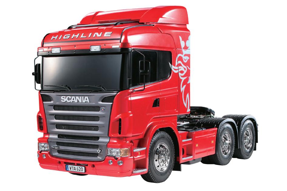 Tamiya Scania R620 Highline rosso kit 1