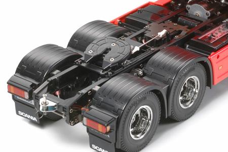 Tamiya Scania R620 Highline rosso kit 8