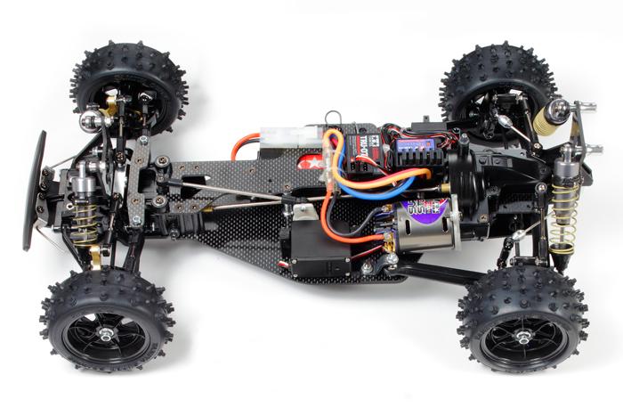 Tamiya Egress 4wd Limited - chassis
