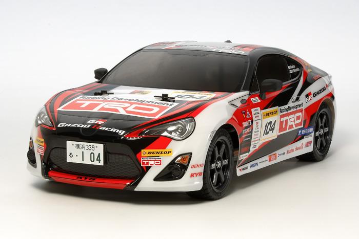 Tamiya Gazoo Racing - TT-02 kit