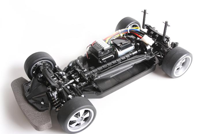 Tamiya Gazoo Racing - TT-02 chassis