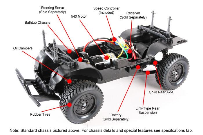 Tamiya Land Freeder 4wd Scaler cc01 1-10 kit 2