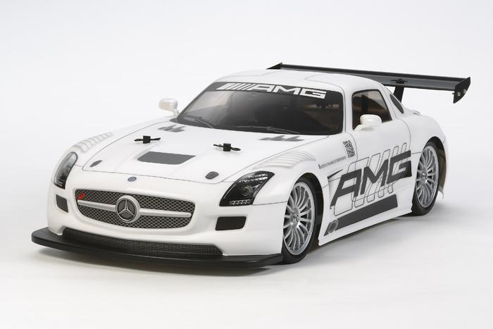 Tamiya Mercedes SLS TT02 -kit - main