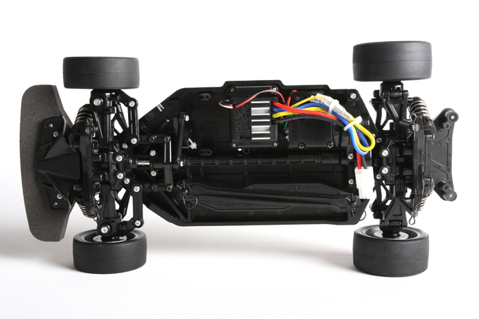 Tamiya Porsche 911 Carrera-chassis