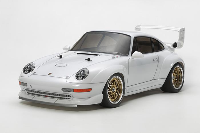 Tamiya TA02SW Porsche 911 GT2 Racing 01