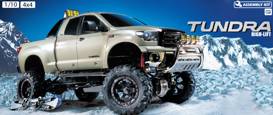 Tamiya Tundra High Lift 4wd Truck 1-10 kit 1