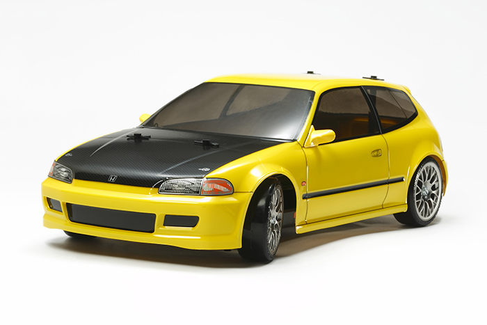Tamiya TT-02D Honda Civic Sir EG6 Drift Kit 01