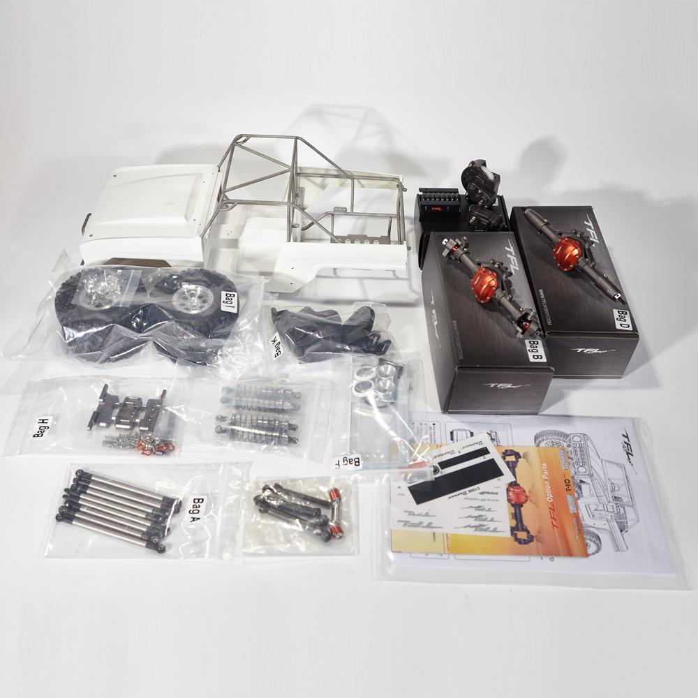 Tfl kit scaler in metallo 1 10 con carrozzeria in fibra di for Negozio con kit abitini