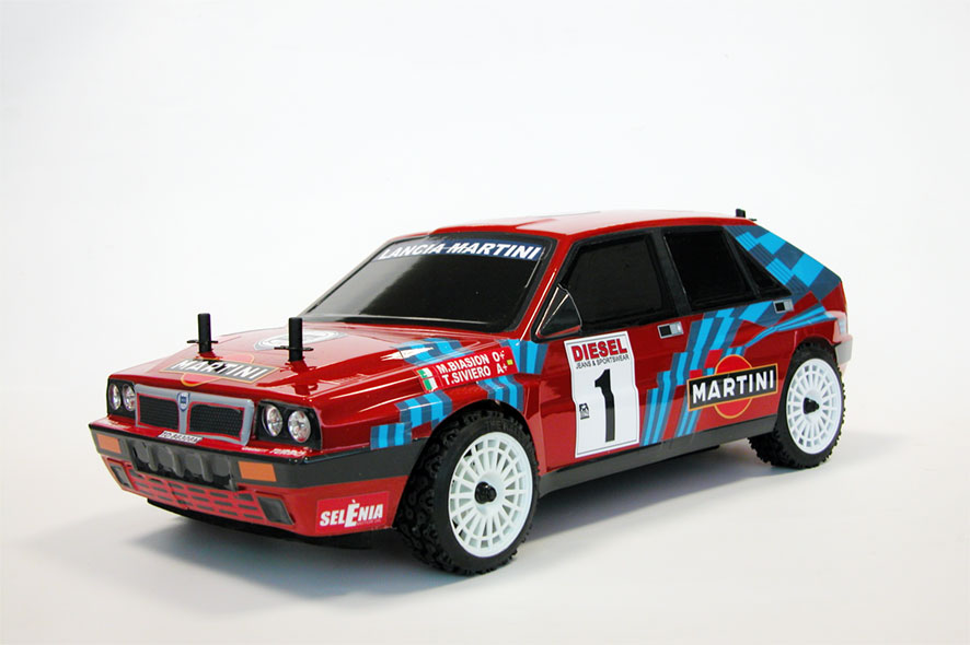 Auto rc Rally Lancia Delta Integrale 1989 artr 1