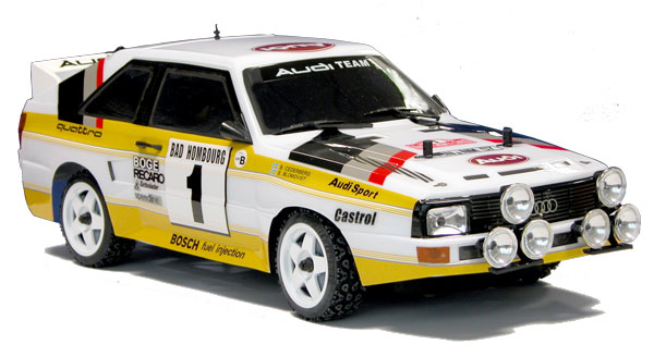 The Rally Legends Audi Quattro 1985 rtr main