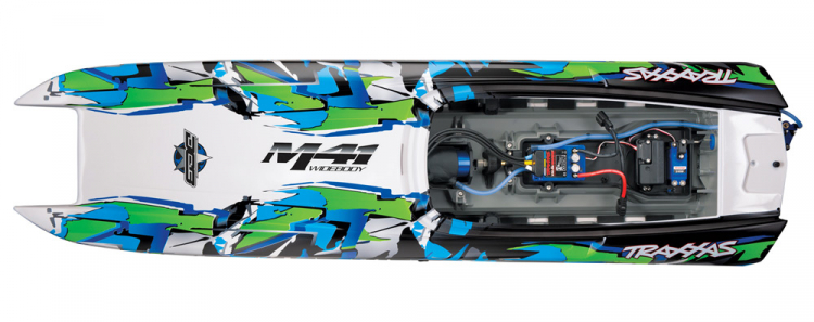 Traxxas M41 Widebody Brushless 02