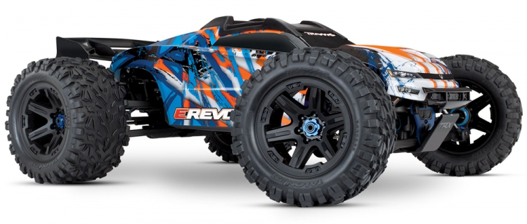 Traxxas e-revo 2.0 Monster Truck Brushless 1/10 02