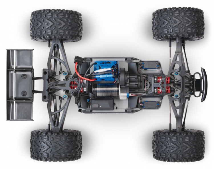 Traxxas e-revo 2.0 Monster Truck Brushless 1/10 04
