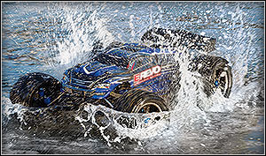 Traxxas E-Revo Brushless Waterproof