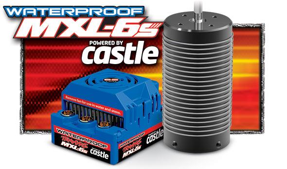 Traxxas MXL-6s Castle