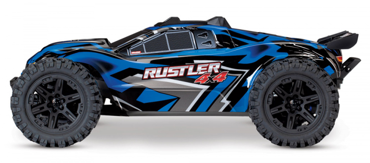 Traxxas Rustler 4x4 Brushed Blue rtr 07