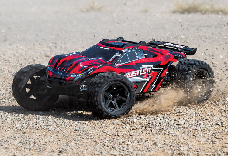 Traxxas Rustler 4x4 Brushed Red rtr 02