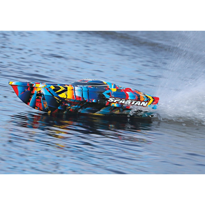 Traxxas Spartan 2018 rc race boat 13