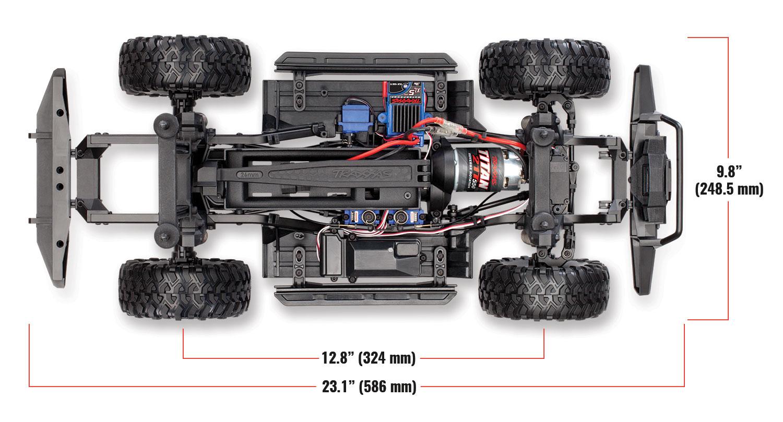 Traxxas TRX4 Land Rover Scaler 4x4 rtr 16