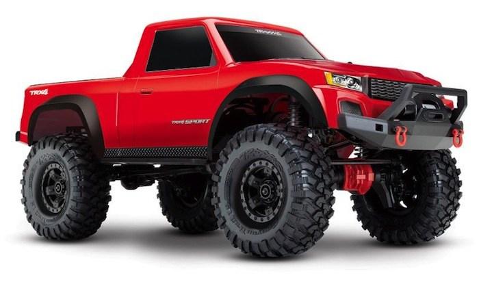 Traxxas TRX4 Sport Trail Truck Scaler 4x4 rtr 01