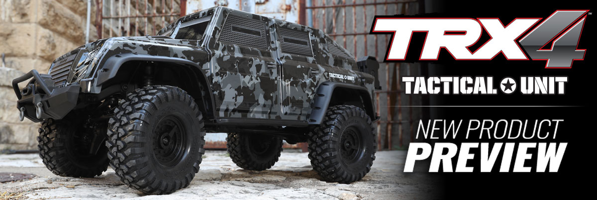 Traxxas TRX4 Tactical Unit Scaler 4x4 rtr 2