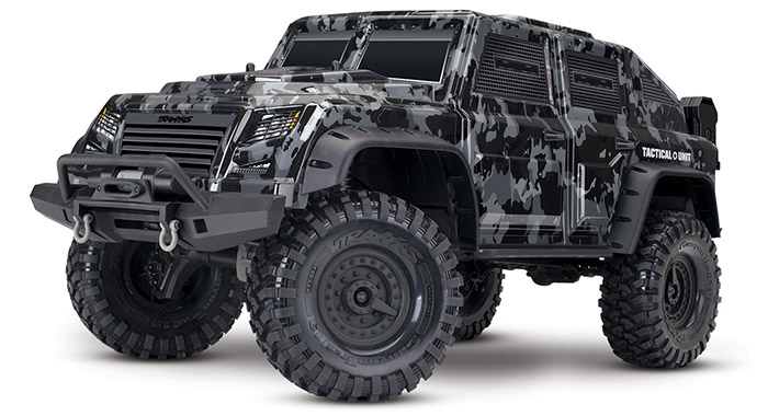 Traxxas TRX4 Tactical Unit Scaler 4x4 rtr 1