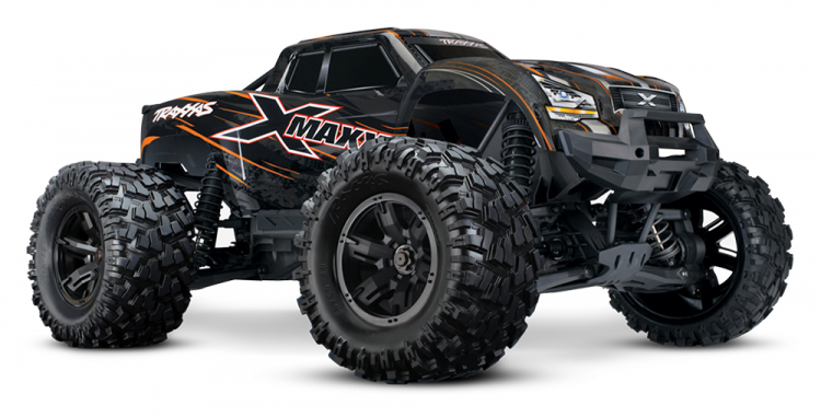 Traxxas X-Maxx 8s orange rtr 01