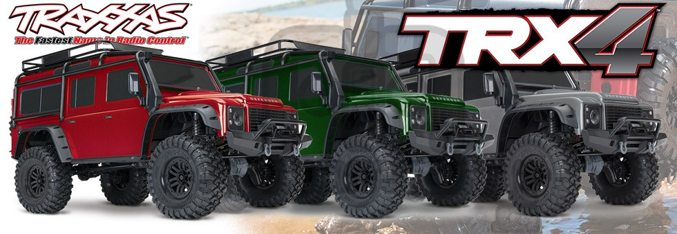 Traxxas land Rover TRX4