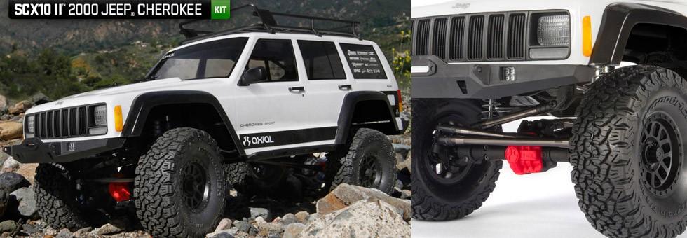 Axial SCX II Jeep Cherokee
