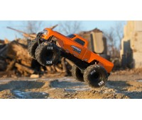 ECX Amp Crush 2WD Monster Truck Brushed RTR International 1 /10 Orange