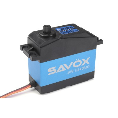 Savox Servo Digital 35Kg High Voltage DC Motor Waterproof Metal Gear