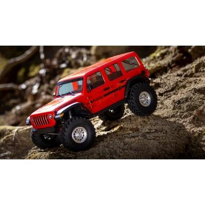 Axial Scx10 3 Jeep JLU Wrangler 4wd 1/ 10 RTR Orange