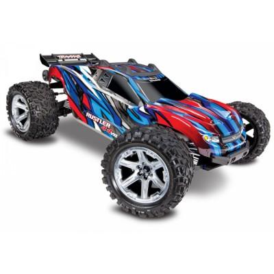 Traxxas Rustler 4x4 VXL Brushless  RTR Blue